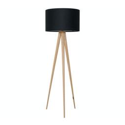 Lampada-Tripod-wood-black-1