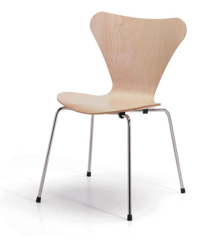 Sedia Serie 7 Arne Jacobsen 1955 Less Is More