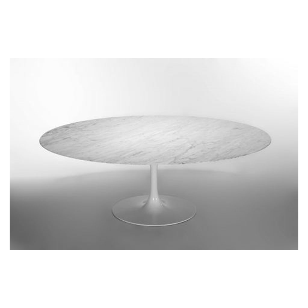 Tavolo Tulip - Eero Saarinen, 1956 - Ovale 199 x 121 cm - Less is More