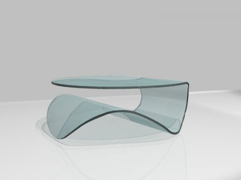 Tavolino-in-cristallo-curvato-KLEE-1