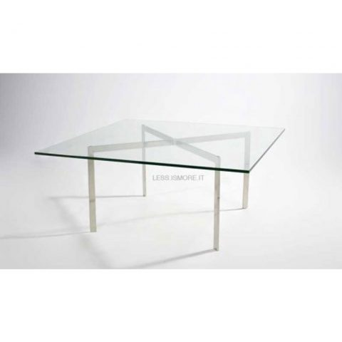Barcelona table, Mies van der Rohe, 1928