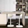 Mini loop stool si inserisce perfettamente in contesti domestici sia minimal che chic