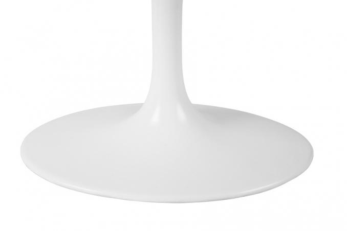 Eero saarinen tavolo da fumo tulip ovale con piano in marmo